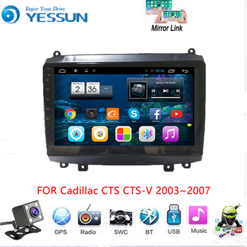 YESSUN For Cadillac CTS CTS-V 2003~2007 Car Android Multimedia Player Car Radio GPS Navigation Big Screen Mirror Link image