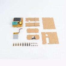 Практичный и твердый LCR-T8 ESR транзисторный конденсатор тестер Диод Триод инструмент для измерения емкости и индуктивности
