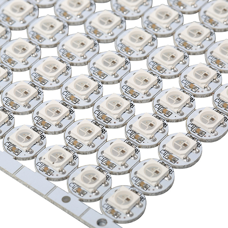 DC5V WS2812 White/black 4-pin Board Individually Addressable RGB Full Color Ws2812b Led With Heatsink (10mm*3mm)