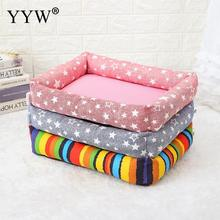Creative Dog Basket Pad Canvas Mat Pet Bed Cushion Waterproof Warm Soft House Product For Cat Beds Supplies