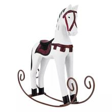 Toy Table-Decoration Wooden Horse Gift Carved Painted Kids