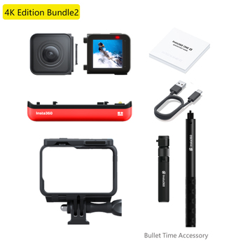 100% Original Insta360 ONER 4K Edition & Twin Edition Action Video Camera 5.7K with 360/4K wide angle waterproof for Sport Cam 9