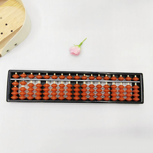 Hot Sale 17 Column Child Learning Aid Tool Chinese traditional Abacus Mathematics Educational Toys