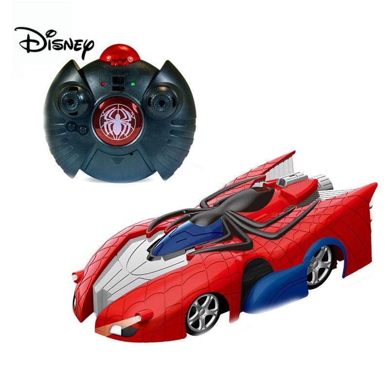 Disney Remote Control Car Marvel Transformer Spiderman RC Wall Climbing Car Remote Control Ceiling Racing  Electric Toys