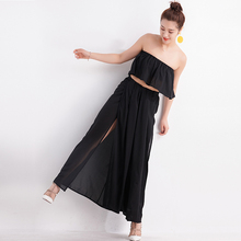 Hot Sale Solid Women Wide Leg Casual Loose Palazzo Trousers Elegant High Waist Pants New Arrivals 8 Colors Ladies