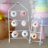 Direct wrought iron donut display stand bakery display props wedding party dessert table donut stand party dessert stand