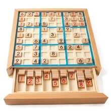 Sudoku шахматные цифры от 1 до 9 можно положить только один раз в любую строчку и проверить интеллектуальные модные Развивающие деревянные игрушки Счастливые игры подарки