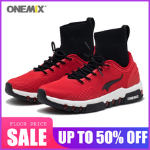 New Onemix Men Running Shoes For men Walking Shoes Outdoor Sneakers Winter Shoes Jogging Sneakers Comfortable Red Sports Shoes salomon shoes speed cross 4 cs sneakers men cross country shoes black red speedcross 4 jogging shoes strong grip running shoes