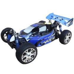 VRX RH802 1/8 Scale 4WD Nitro RTR Off-Road Buggy High Speed 2.4GHz RC Car (With Force.21 Methanol Engine) - R0027 Blue Black