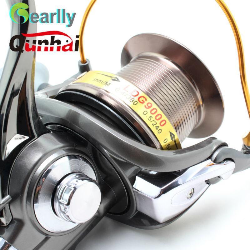 Gearlly Nova Marca Qunhai spinning reel fishing