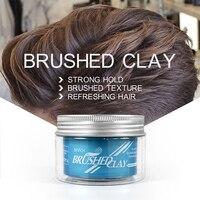 Sevich, novedad, 100g, arcilla cepillada para el cabello, fuerte sujeción, textura cepillada, productos de peinado para el cabello de arcilla