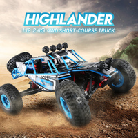 JJRC Professional Four wheel Drive off road Vehicle 19g High speed Steering Gear 2.4G Remote Control Climbing RC Car Q39