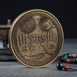 Hobo Nickel USA Morgan Dollar Coin Yes or No Commemorative Coin Souvenir Challenge Collectible Coins Collection Art Craft