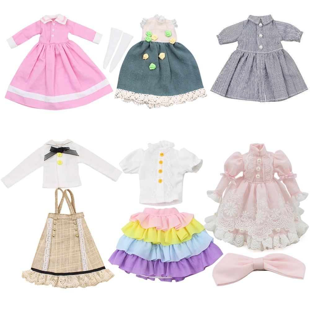 DBS Blyth icy 1/6 кукла, одежда, кукла, джинсовый комбинезон для куклы 12 дюймов, шарнирное тело, классная одежда, подарок для девочки и мальчика