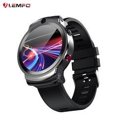 LEMFO LEM13 4G Android GPS Wifi Smart Uhr Männer Dual 8MP Kameras 1,6 zoll Gesicht ID 1280 mAh 3G 32G Smartwatch