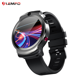 LEMFO LEM13 4G Android GPS Wifi Smart Watch Men Dual 8MP Cameras 1.6 inch Face ID 1280 mAh 3G 32G Smartwatch