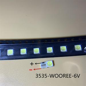 Image 2 - 1600 個wooree ledバックライト 2 ワット 6v 3535 150LMクールホワイトWM35E2F YR09B eA lcdバックライトテレビtvアプリケーション
