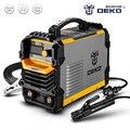 DEKO DKA серия 220V 200A 4.1KVA IGBT инвертор дуговой электрический портативный сварочный аппарат MMA сварочный аппарат для домашней DIY сварочной работы