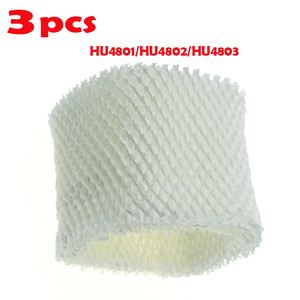 3Pcs Umidificador de Ar Filtros Absorver Bactérias E Escala Para Philips HU4801 HU4802 HU4803 HU4811 HU4813 Humidifie