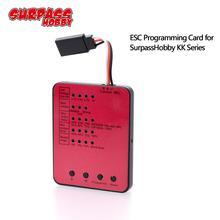 SURPASSHOBBY KK ESC Series LED Programing Card for RC Car 25/35/45/60A/80A/120A/150A ESC Electronic