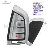 Remtekey N5F ID2A chave inteligente 4 botão 434 mhz para bmw x5 x6 3248a id2a|Chave do carro|   -