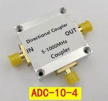 5 1000Mhz 10dB כיוונית מצמד ADC 10 4 מיני מעגלים RF CNC עבור קצר גל, VHF band אות מגבר כוח רדיו חם