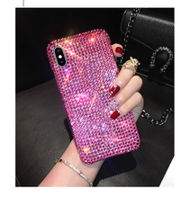 Full Diamond Phone Case For Samsung S20FE S21 S20 Plus Note 20 Ultra 10 Lite M51 M31 M21 A11 A81 A91 A80 A90 Rhinestone Cover