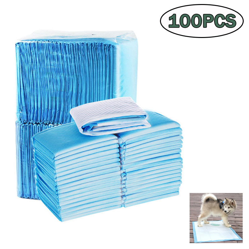 50/100pcs Dog Diapers Pet Pee Diaper Pads Super Absorbent Pet Diaper  Disposable Clean Nappy Mat For Pets Dairy Diaper Supplies