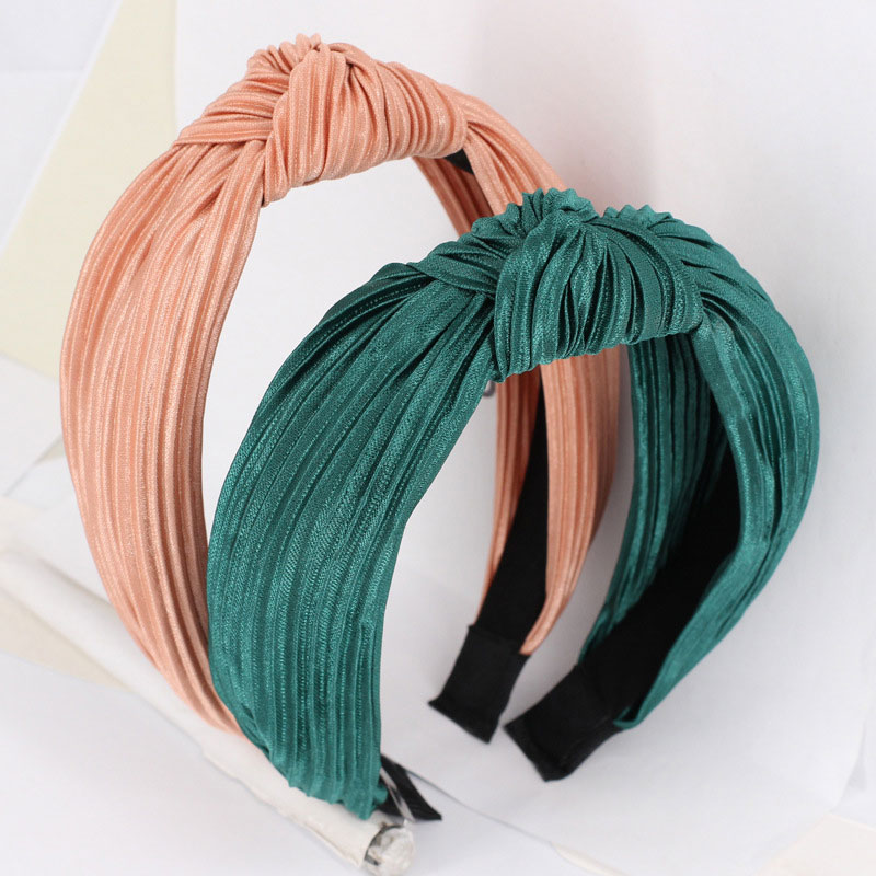 Knot Cross Tie Solid 1 PC Fashion Hair Band Hairband Cross Striped Rib Girls Bow Hoop Hair Accessories Velvet Twist Headband