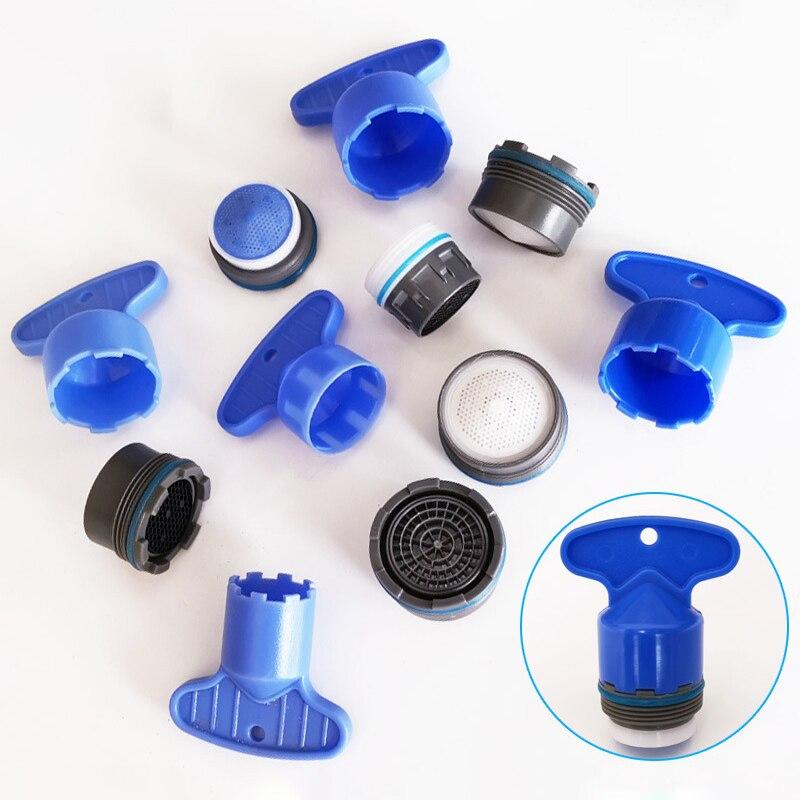 1 takım 16.5-24mm erkek konu su tasarrufu musluk havalandırıcı musluk kabarcık mutfak havzası musluk aksesuarları banyo aksesuarları seti