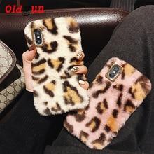2019 Real Dirt resistant Anti knock New Leopard Hair For Iphone11 Mobile Phone Iphonex Xs Xr Xsmax Bag Ladies Iphone Full Model