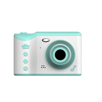 2.8 Inch Recording Large Capacity Travel Mini Kids Gift Touch Screen Digital Cameras Photo Portable Front Rear Dual Lens