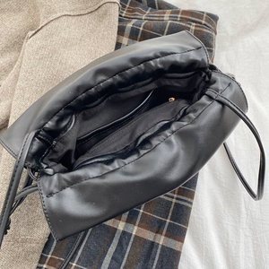 Image 5 - 2020 New Women Bag PU Leather Youth Drawstring Bucket Bag Japan Lucky Bag Ladies Handbag Small Crossbody Shoulder Bag Whole Sale