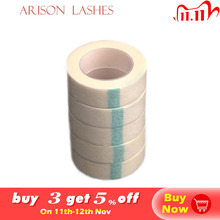5pcs Eyelash Extension Lint Breathable Non woven Cloth Adhesive Tape Medical Paper Tape For False Lashes Patch Makeup Tools