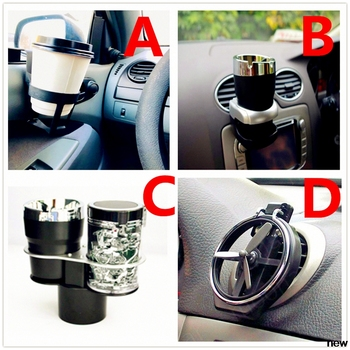 car drink carrier cup water holder Air Condition Inlet Bottle for Ford Shelby SYNus King GTX1 Freestyle Fairlane Equator BA image