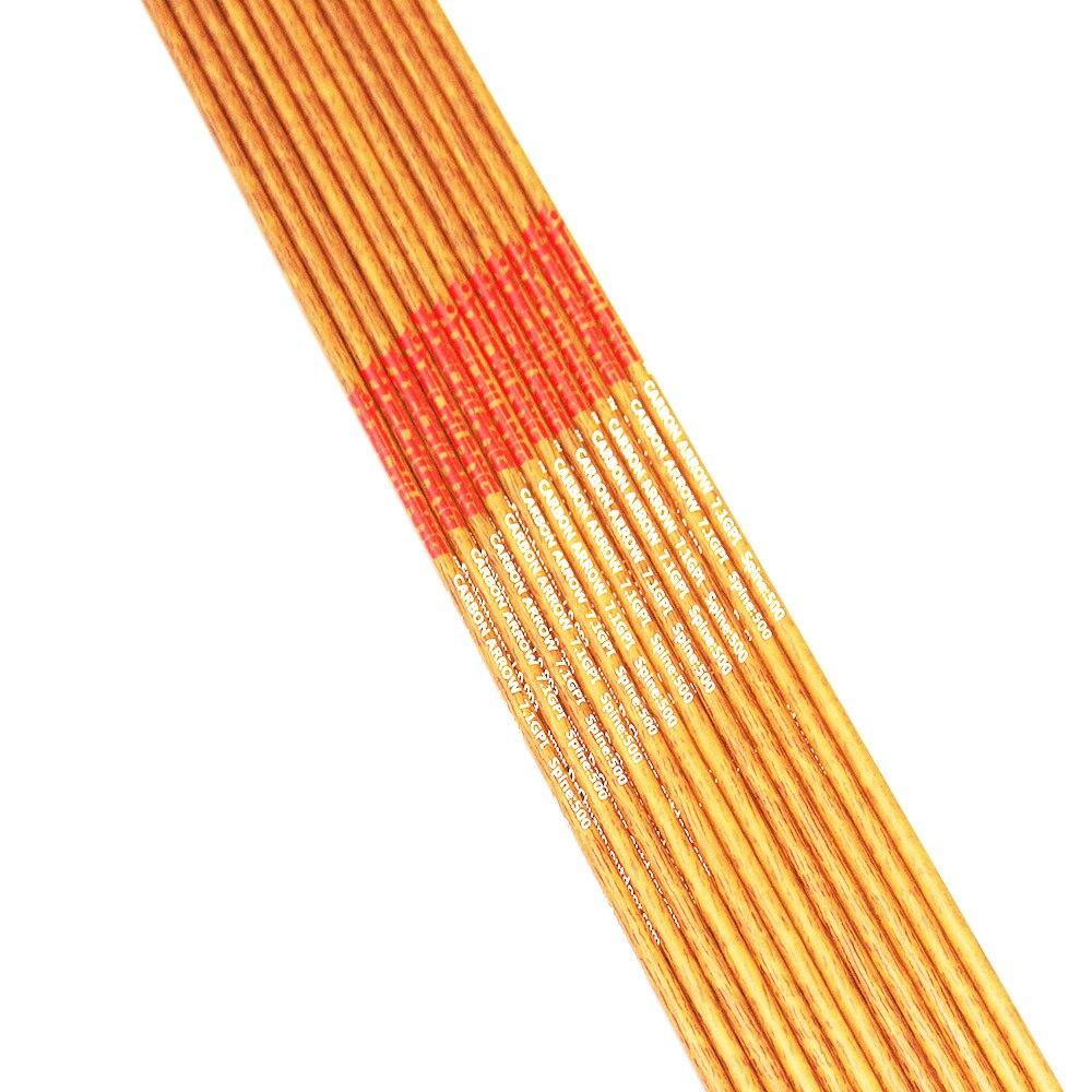 12pcs Tiro Com Arco espinha 400 500