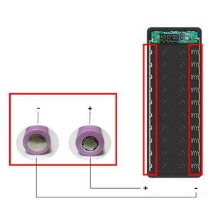 Image 4 - 10*18650 Power Bank Fall Dual USB Mit Digital Display Bildschirm Handy Ladegerät DIY Shell 18650 batterie Halter lade Box
