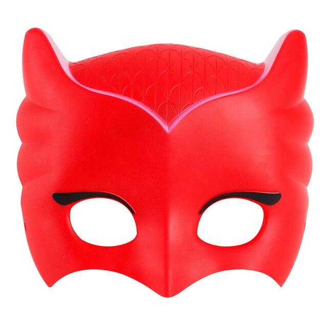 pj mask Doll model masks three different color masks Catboy Owlette Gekko Figures Anime Outdoor Funny Kids Toys for Children S57 2