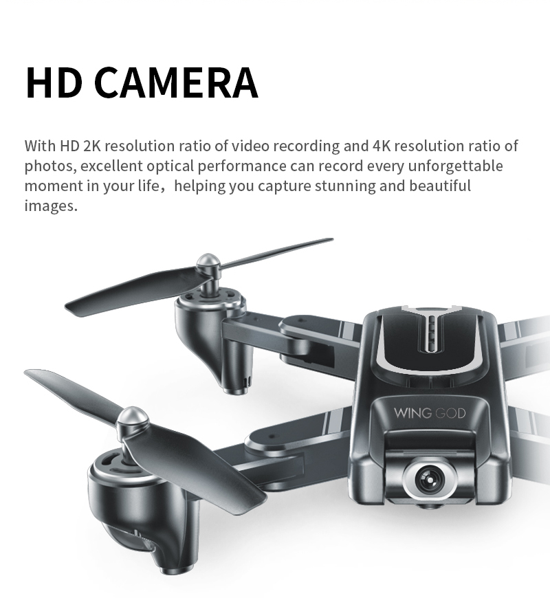New VISUO XS817 Drone GPS 4K 50x zoom HD Camera Follow me WIFI FPV RC Quadcopter Live Video Altitude Hold Auto Return RC Dron (With GPS 4K Camera)