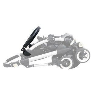 Image 4 - Бампер для детской коляски, подлокотник из искусственной кожи и ткани Оксфорд для Bugaboo Bee3, поручни для коляски, аксессуары для детской коляски