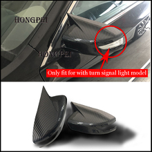 Car styling Exterior Rearview Mirror Cover Trim For Nissan Sentra Maxima 2016-2019 Original cover with turn signal model