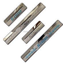 Накладка на порог из нержавеющей стали для suzuki sx4 s cross