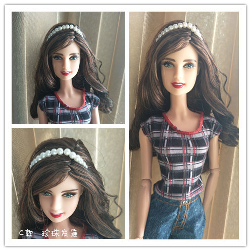Earrings or necklace Hat or headdress/ Doll Accessories DIY Cosplay For Baby Toy 1/6 Xinyi Barbie FR Doll for barbie accessories 3