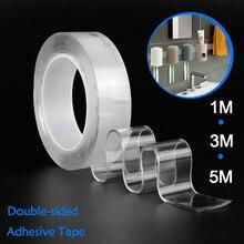 Bathroom-Sticker Waterproof-Tape Nano for Decoration Adhesive Non-Marking Transparent