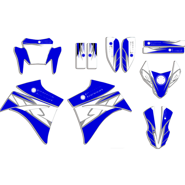 For Yamaha XT660R XTR660 XT 660R XT 660 R Graphics Decals Stickers Motorcycle Fairing Decal 2004  2020 2019 2018