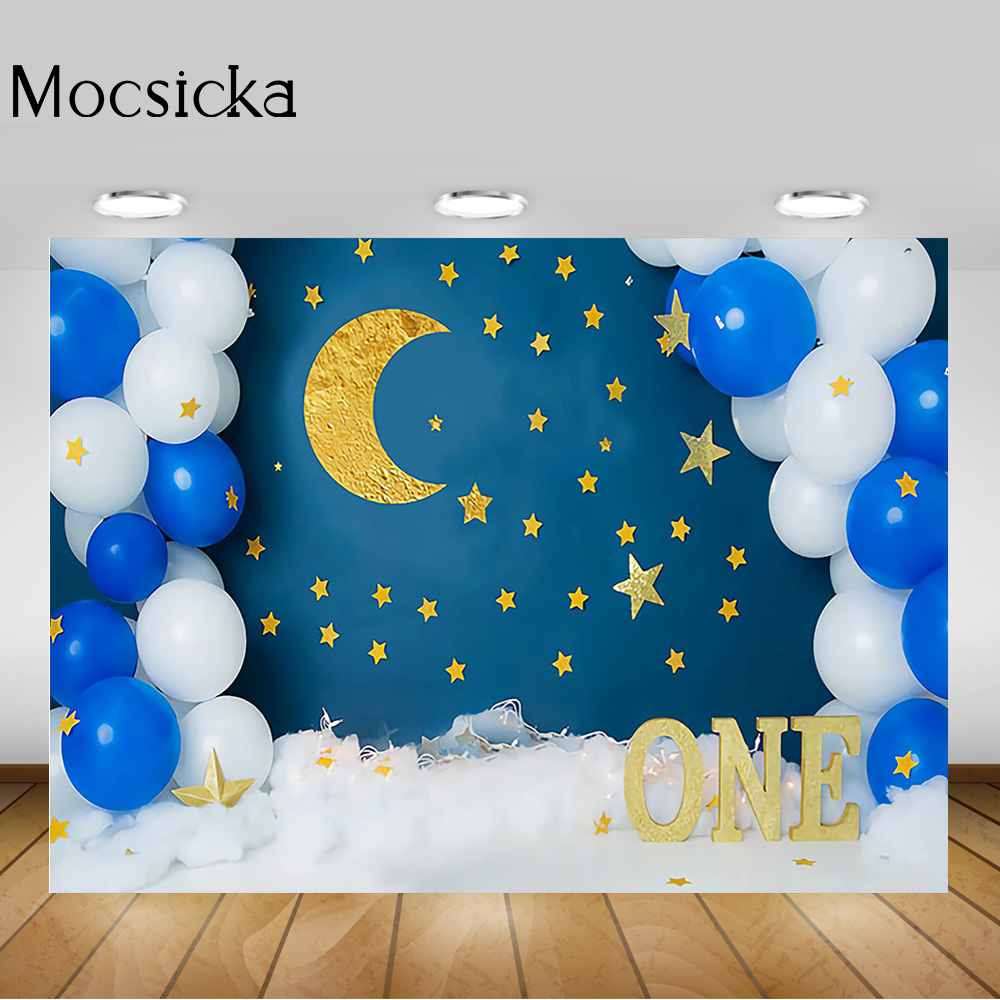 Laeacco Paper Flags Confetti Wooden Background 10x6.5ft Vinyl Photography Background Happy Birthday Party Newborn Baby Kids Photos Backdrops