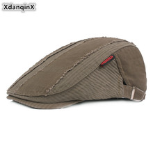 XdanqinX Novelty Mens Personality Cotton Berets Adjustable Size Retro Fashion Sports Hip Hop Hat Autumn Male Bone Snapback Cap