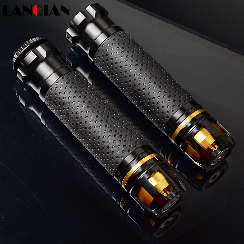 Universal Motocross CNC 22 25 28MM Motorcycle Handle Bar Caps Handlebar Grips For BMW C650 F650GS F700GS F800GS F800GT F800R