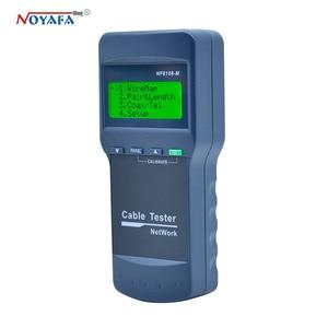 Image 2 - גבוהה באיכות NOYAFA NF 8108M רשת כבל Lan Tester חוט אורך tester 8 מרחוק יחידות NF_8108M