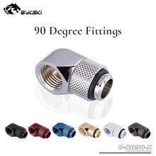 Bykski B-RD90-X 90 градусов фитинги с вращением бутик несколько цветов G1/4 ''водяное охлаждение обычно используются фитинги